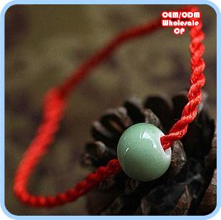 To Ward Off Evil Spirits Painted Earthenware Bracelet