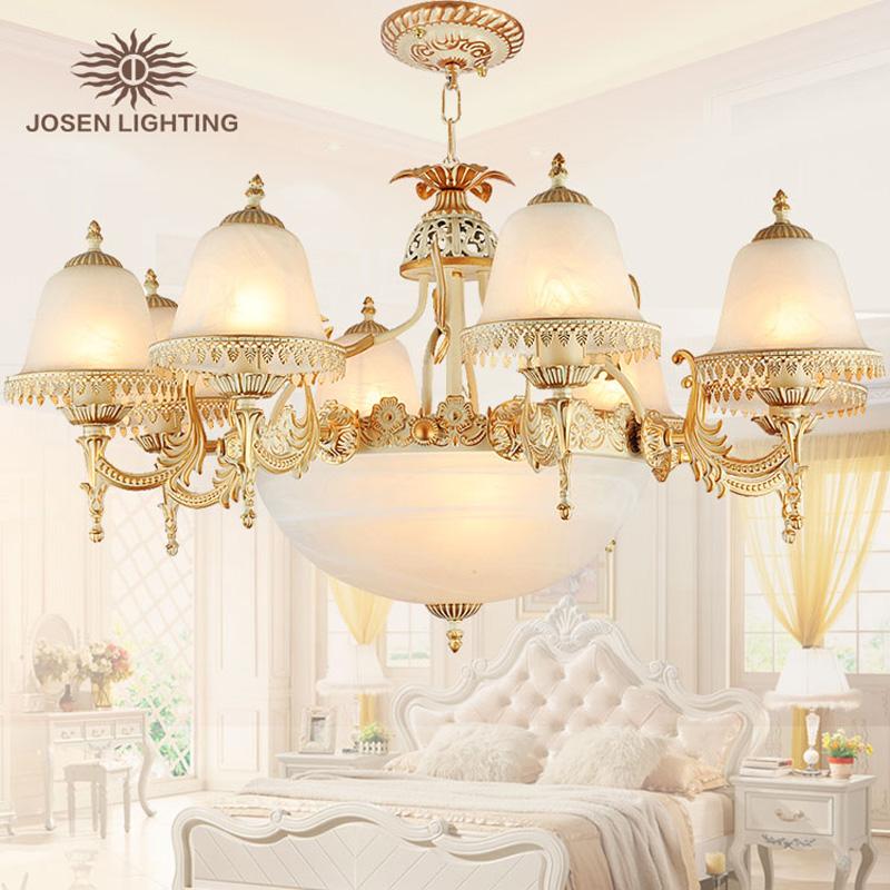 2015 New Arrival lustre Hot sale chandelier genuine vintage chandeliers handmade golden high quality led chandelier lampada led(China (Mainland))