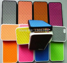Wholesale Waffle case for iphone 4, Van Sole Shoe Grid Silicone Soft case For iPhone 4S 4G 500pcs/lot(China (Mainland))