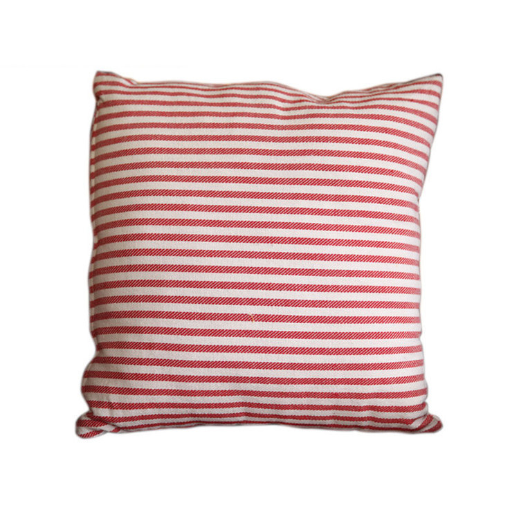 Pink / Blue Striped Bed Car Sofa Cushion Throw Household Throw Pillow 16 Inch-in Decorative ...