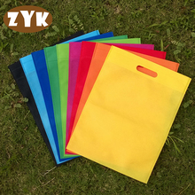 30*40 Non-woven fabric Shopping Bag Foldable Reusable Grocery Bags Convenient Totes Bag Shopping Cotton Tote Bag(China (Mainland))
