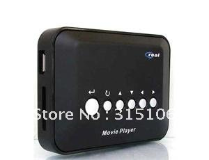 NEW Digital Movie Player Multimedia Mini Remote For TV(China (Mainland))