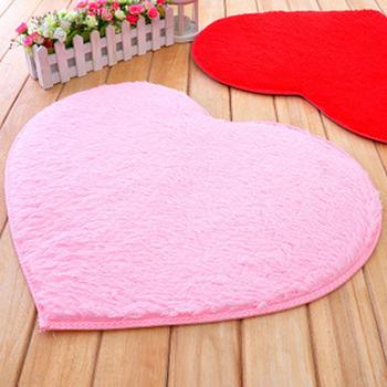 Горячая! Ковры и ковры форме сердца мягкий коврик / коврик современный 8 цветов украшения tapetes мат