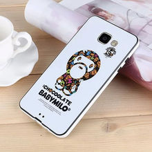 Case For SAMSUNG GALAXY A8 A8000 New Arrival Iron Man Minnie KT Girl Bowknot Fawn Doraemon Pattern Hard TPU BackPhone Housing