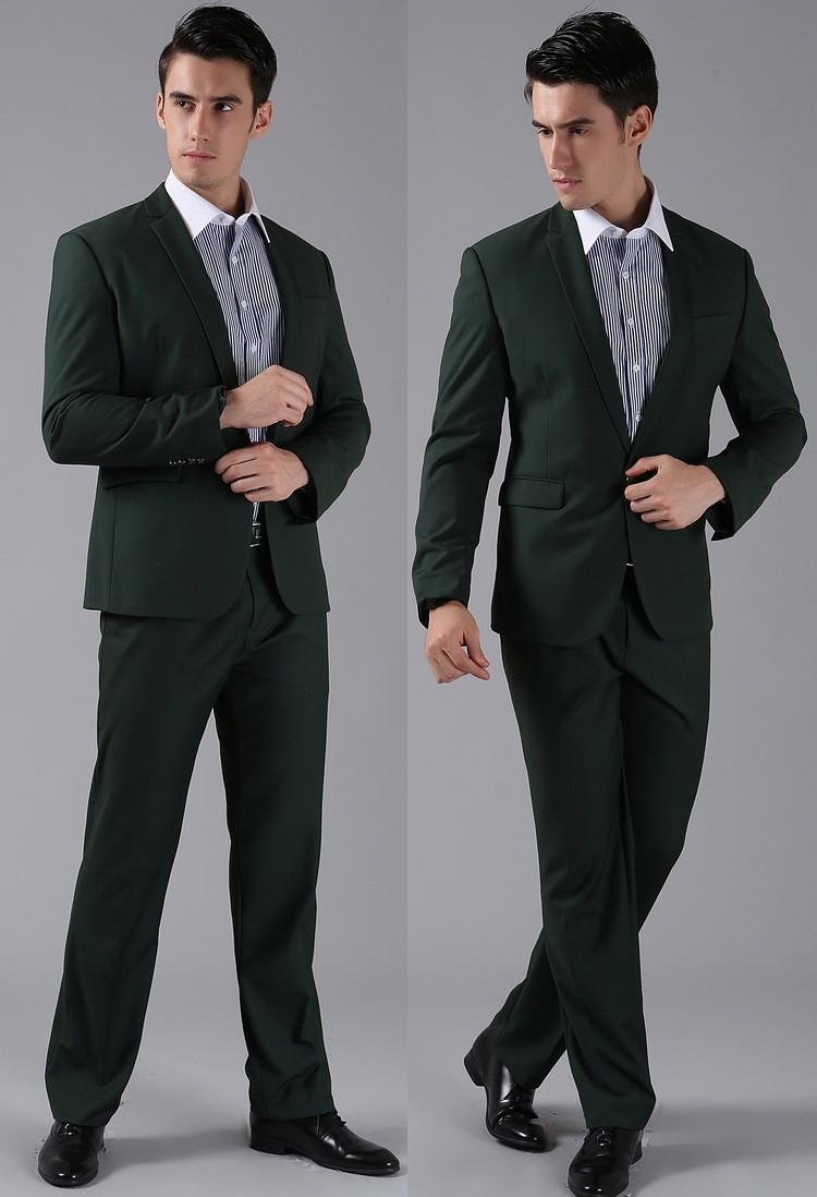 Dark Green Pants For Men