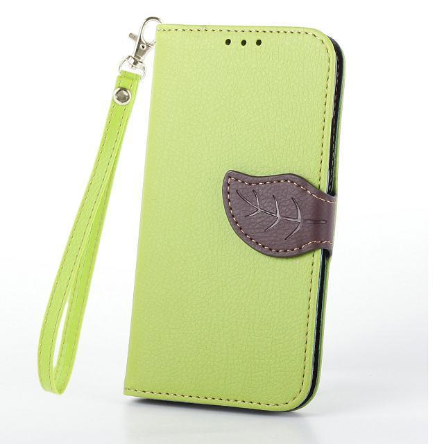S5 Top Quality Leather Luxury Cases For Samsung Galaxy S5 SV i9600 Flip Cover Wallet Case Leaf Buckle Belt Card Holder Shell(China (Mainland))