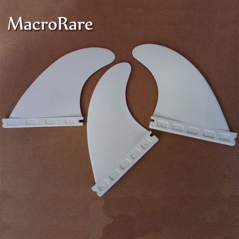 Cheap plastic future 5 surfboard fins/white G5 future fins/surf fins(China (Mainland))