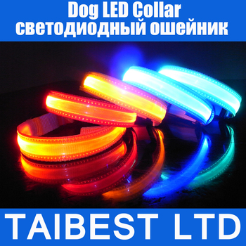 LED Pet Cat Dog LED Collar Safety Glow Necklace Flashing Lighting Up XS / S / M / L / XL Good Quality Not the Cheaper one