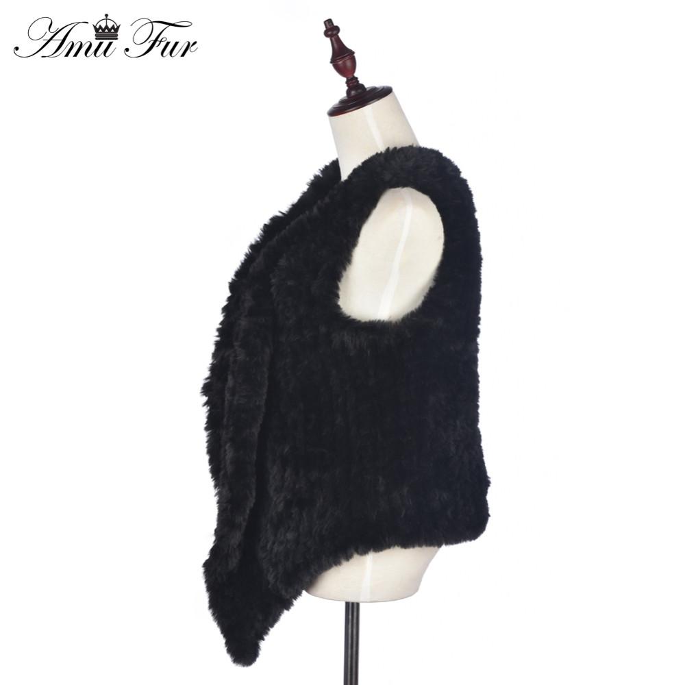 Top Quality Faux Rex Rabbit Fur Vest Rabbit Fur Jacket For Women 2016 New Fashion Faux Fur Waistcoat 4 Colors Suitable For S-3XL