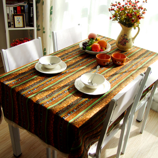 National sunny bohemia trend table cloth rustic table cloth fabric gremial fluid lace customize(China (Mainland))
