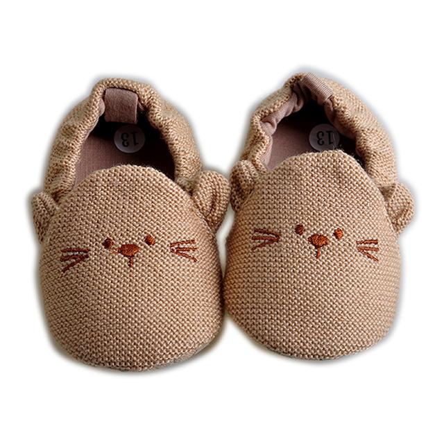 2016 Новый стиль новорожденные детская обувь детская обувь зима мягкая хлопка первый ...