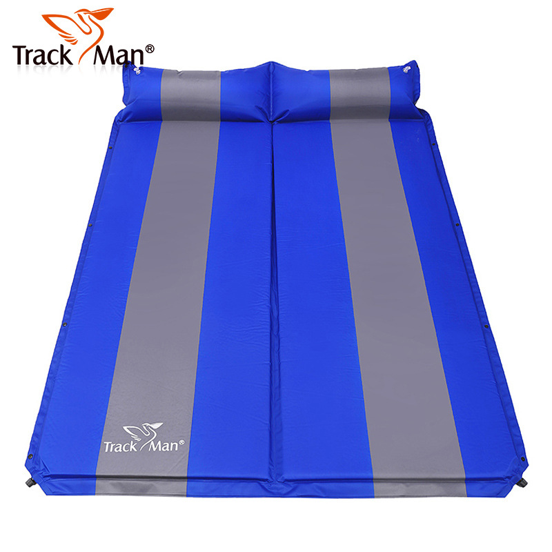 Trackman automatic inflatable cushion pad double tents moisture-proof pad widening and thickening mattress mat<br><br>Aliexpress