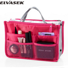 Elvasek travel bag women cosmetic cases nylon travel bags cosmetic organizer women pouch bags storage makeup waterproof LM2136(China (Mainland))