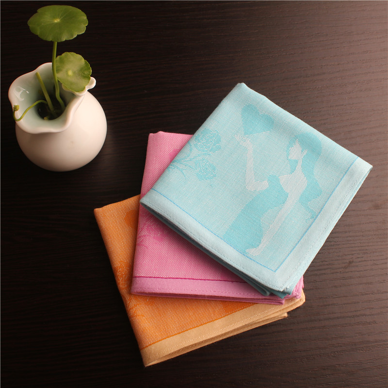 Women's handkerchief 100% cotton handkerchief espadrilles ladies handkerchiefs wholesale(China (Mainland))