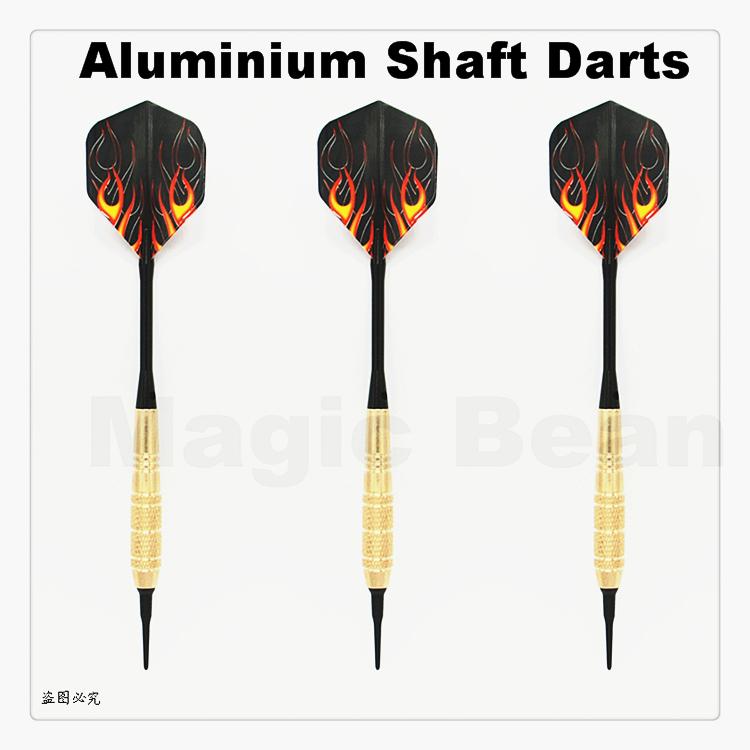 High Quality Professional 3 pieces/set 19g Nylon Soft Tip; Aluminum Shaft; Brass Barrel Darts; Electronic Dart 16 assortment<br><br>Aliexpress