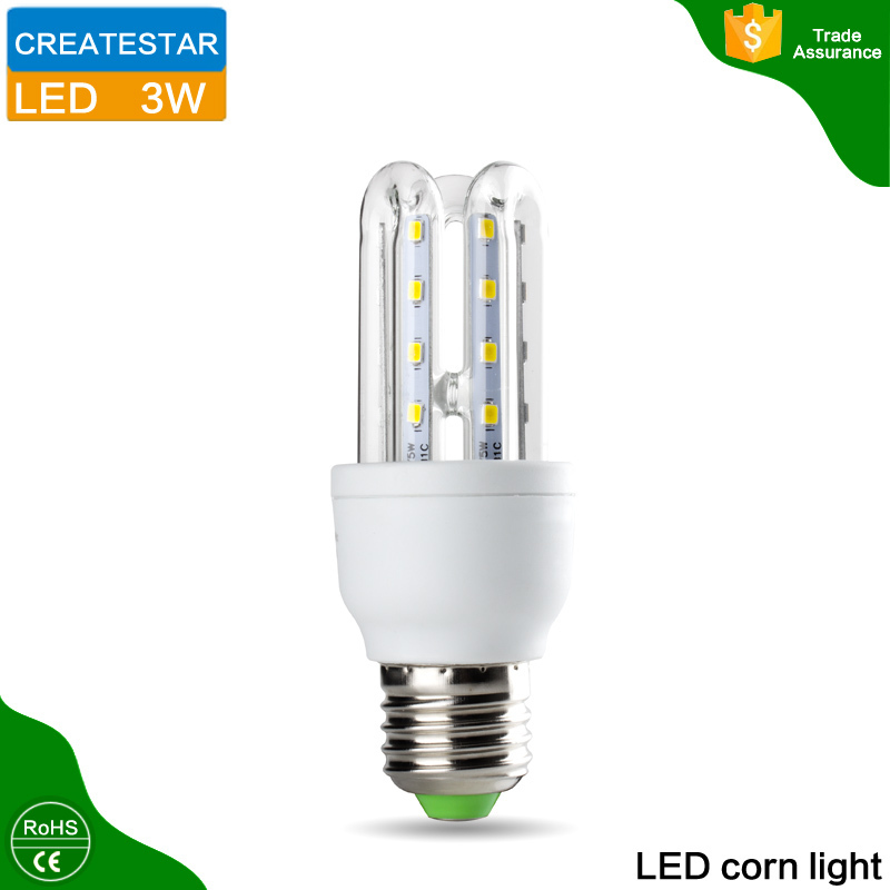 AC85~265V led energy saving lamp 2U 3U 4U 3W 5W 7W 9W 12W 16W 23W(China (Mainland))
