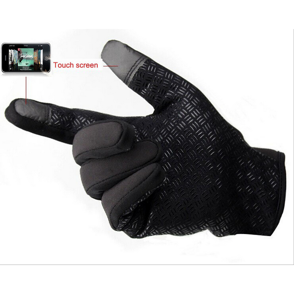 2015 Winter Brand Windstopper Gloves Touch Screen Windproof Waterproof Thermal Ski Mittens Camping Leisure Thermal Gloves