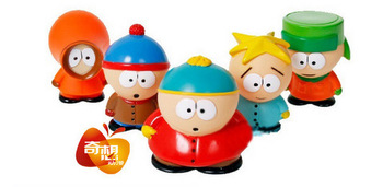 Free Shipping South Park Figures 5 pcs set Toys Eric Kenny Stan Kyle gifts Limited Edition