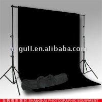 Black Muslin Background Backdrop Support Photographic equipment