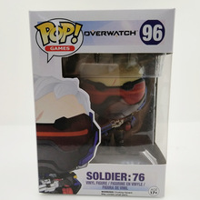 Buy 12cm Original OW Funko POP SOLDIER:76 Action Figure OW Collection Model Kids Toys Gifts Come Box for $6.99 in AliExpress store