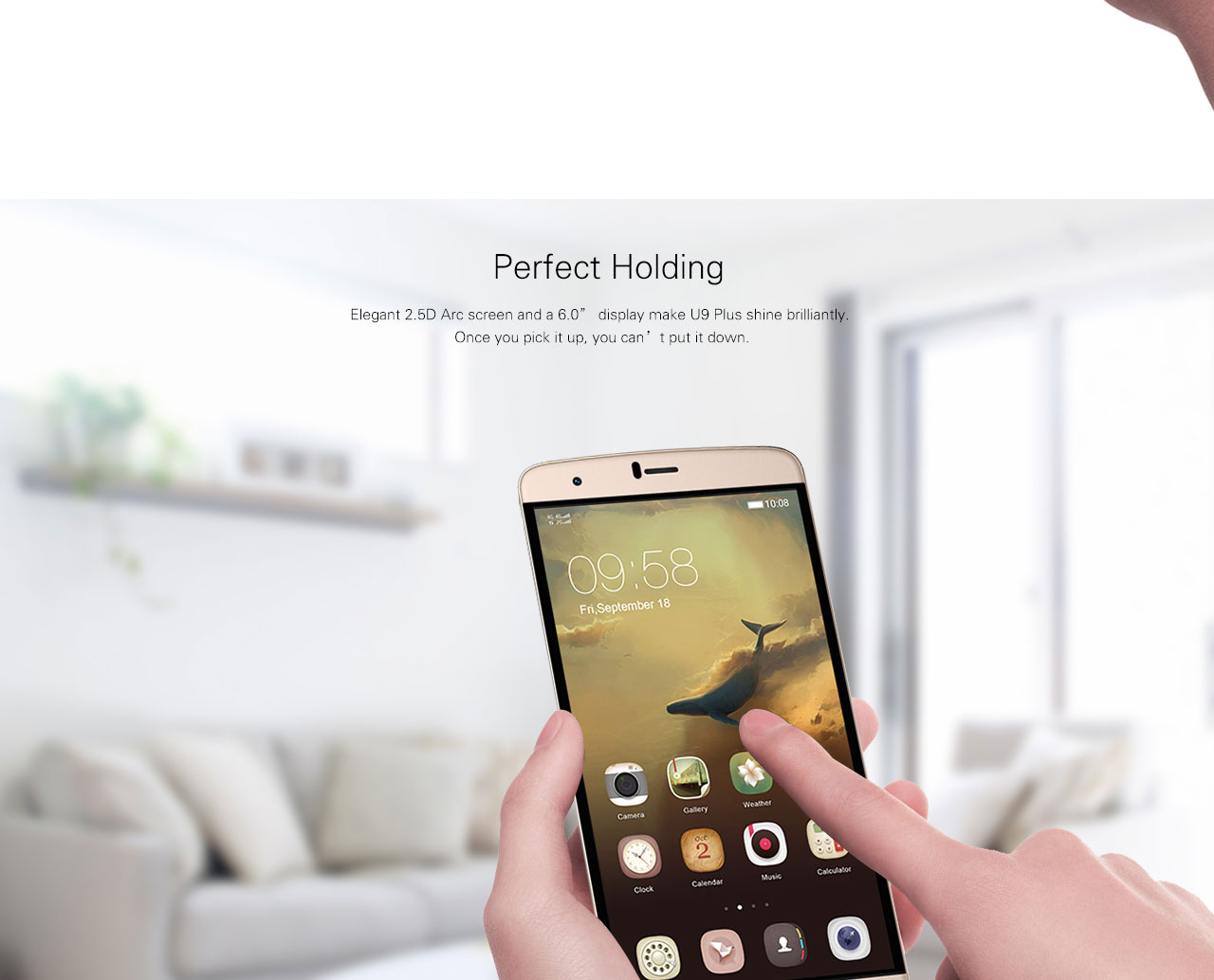 iNEW U9Plus 4G Original Mobile phone Android 5.1 MTK6735A 1.3GHz Quad Core 2GB RAM 16GB ROM 13 MP Smartphone cellphone 3000mAh
