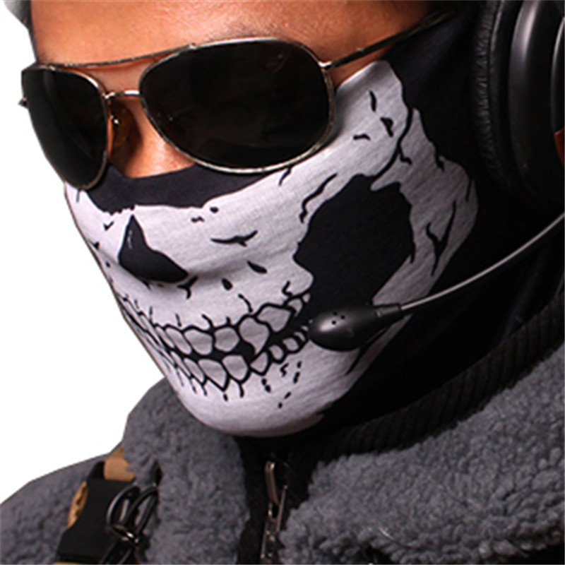 Special Forces Army Cosplay Mask Halloween Accessories To Protect Face When Outdoor Riding Anti dust Masks