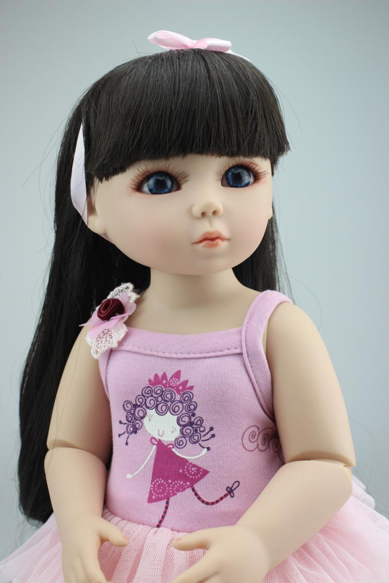 1/4(45cm) BJD/SD girl bjd doll, TOP QUALITY jointed bonecas by NPK best lover gift kids toys