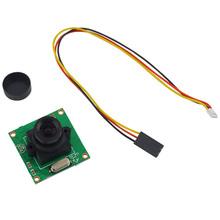 FPV Audio Video Camera Mini 800TVL 1/3 Inch COMS 140 Degree Security CCTV HD Camera For QAV250 Quadcopter FPV Photography(China (Mainland))