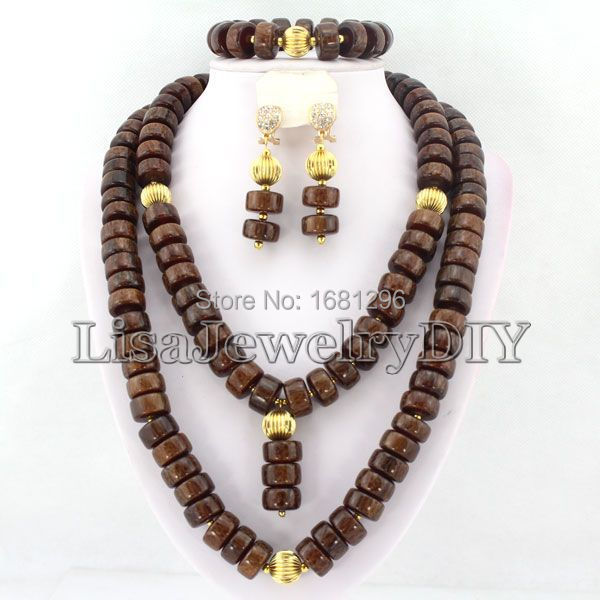 African Coral Beads Jewelry Sets Nigerian Wedding African Bridal Jewelry Set Free Shipping     HD0614<br><br>Aliexpress
