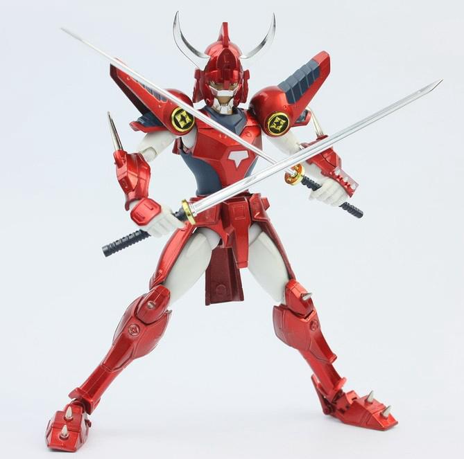 Фотография Datong Armor Plus Yoroiden Samurai Troopers Rekka No Ryo Sanada Ronin Warriors Action Figure