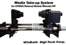 Automatical Media Take-up System for Mutoh RJ900 / VJ1204 series printer