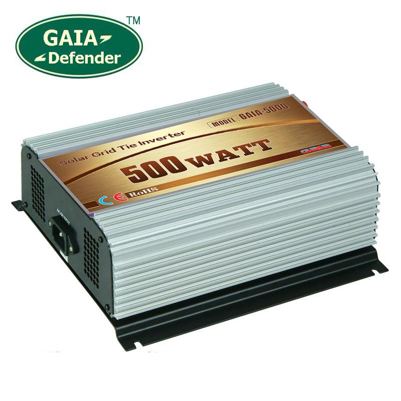 500W Solar Grid Tie Inverter DC 22V-60V AC 90V-140V for 100V 110V 120V(China (Mainland))