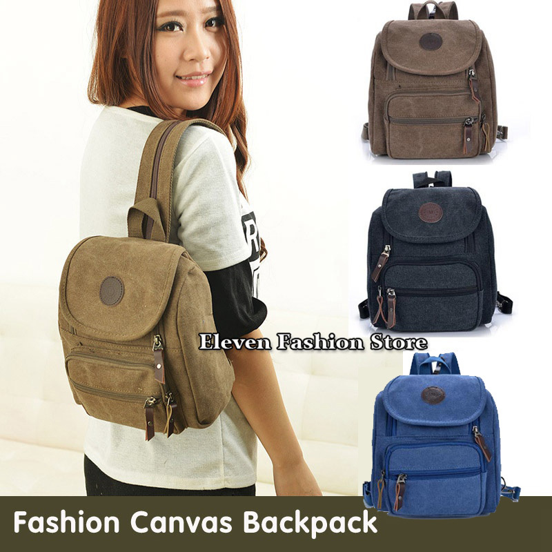 Free Shipping Fashion Canvas Women Backpack School Bag Small Student Bag Female Shoulder Bag Small Women