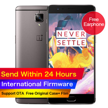 "New Original Oneplus 3T one plus 3 T Mobile Phone Snapdragon 821 Quad Core 5.5"" 6GB 64GB LTE 16MP NFC Fingerprint(China (Mainland))"