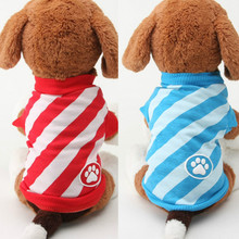 Buy Spring/Autumn Pet Dog Clothes Small Dogs Coat Jacket Stripe Puppy Vest Sweatshirt Costume Teddy Chihuahua Clothing Apparel for $2.01 in AliExpress store