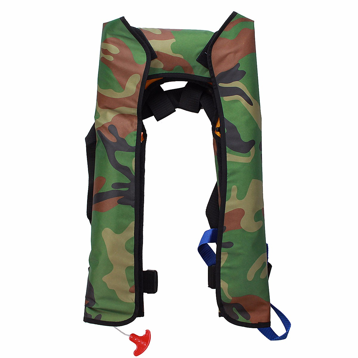 Hot selling manual and automatic inflation Inflatable life jackets self inflating life vest life tube for 16KG camouflage color(China (Mainland))