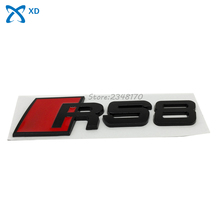 Buy 3D metal Car Emblem Auto Accessories RS8 RS 8 Sticker Rear Tail Badge Sticker Logo RS8 Badge Logo Audi RS8 Car styling for $4.50 in AliExpress store
