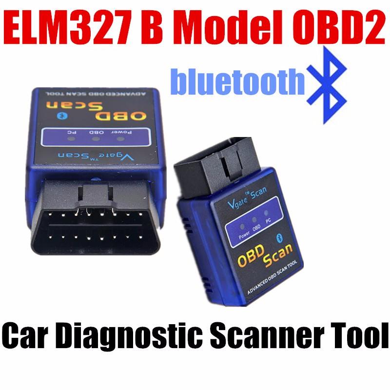 High Quality ELM327 V1.5 Interface Bluetooth OBD2 Car Diagnostic tool Auto Scan Scanner tester code reader(China (Mainland))