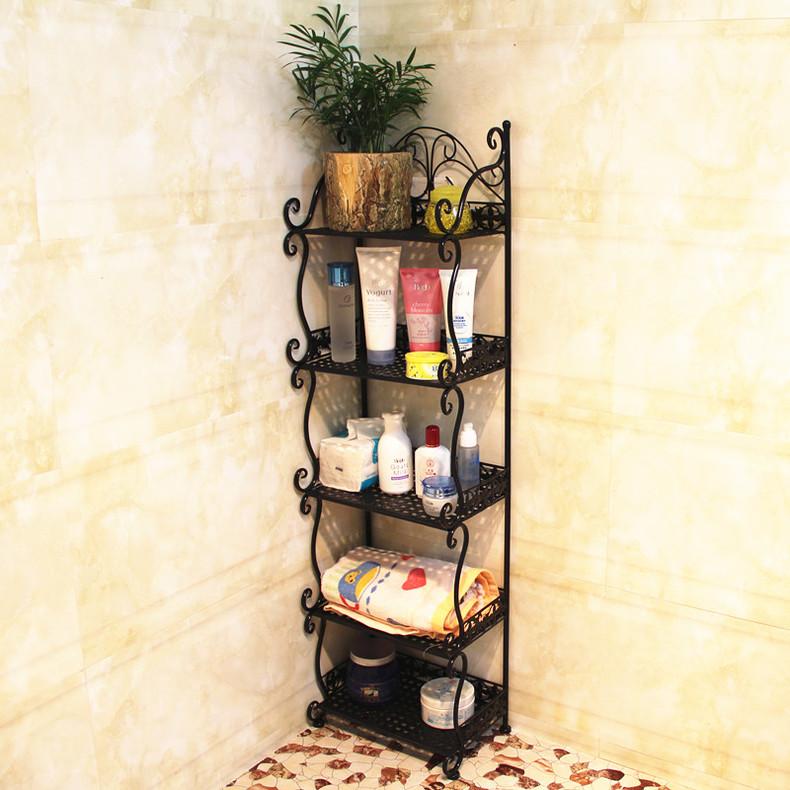 popular wrought iron corner shelf buy cheap wrought iron. Black Bedroom Furniture Sets. Home Design Ideas