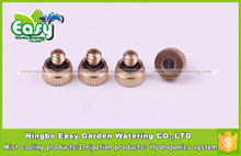 (5~20bar)Fog Mist Nozzle, Low pressure mist cooling nozzle. Brass misting nozzle.(20pcs/pack) Free Shipping(China (Mainland))