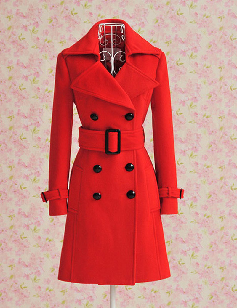 matches. ($ - $2,) Find great deals on the latest styles of Red long wool coat. Compare prices & save money on Women's Clothing.