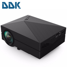 2015 GM60 Home theater cinema 1000Lumen mini proyector VGA HDMI LED LCD HD Video 3D Projector/projetor projecteur(China (Mainland))