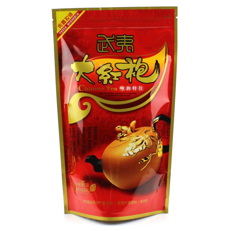 100g Premium dahongpao tea wuyi the top grade da hong pao tea big red robe oolong tea Wuyi yan Cha, Wuyi Cliff Wulong with bag(China (Mainland))