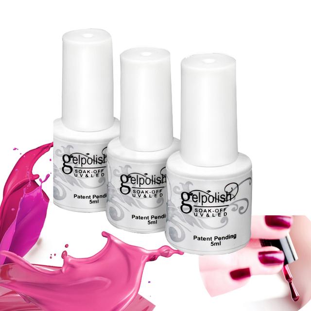 Новые 168 цветов 5 мл мода съемный уф фототерапии длительный ногтей уф-гель лак для ...