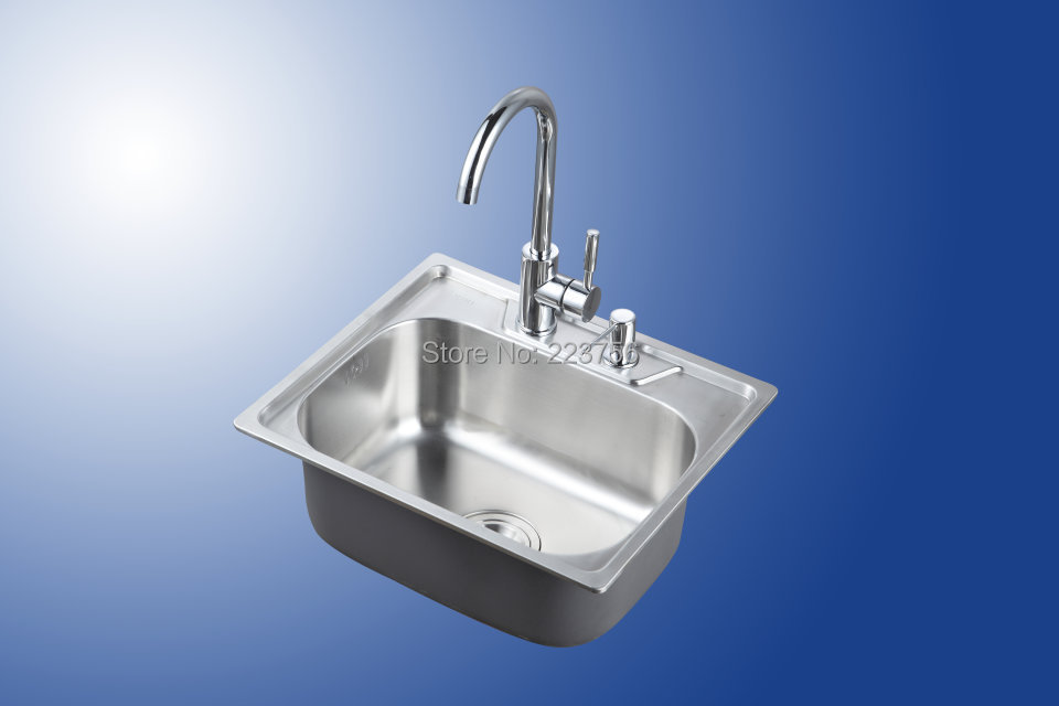 mini samll size square stainless steel kitchen sink
