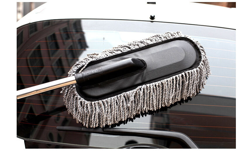 car cleaning brush car duster dust wax drag wax shan wax brush dust long brush in rust converter. Black Bedroom Furniture Sets. Home Design Ideas