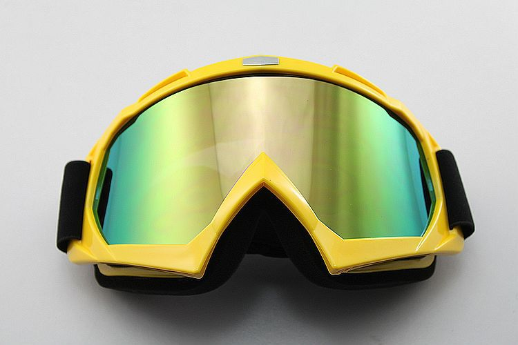 FREE SHIPPING Ski Motorcycle Winter Sports Goggles Eyewear Single