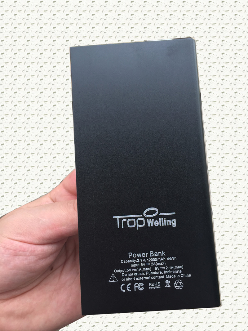 Tropweiling Thin power bank diy 8000mah mini power bank battery pack 18650 power bank box for All phones