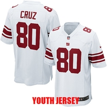 Top quality Eli Manning Odell Beckham Jr Phil Simms Lawrence Taylor Victor Cruz Strahan For YOUTH KIDS New York(China (Mainland))