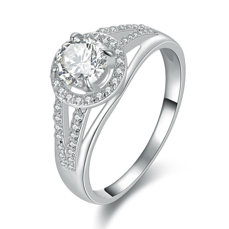 aliexpress buy cz cubic zirconia white gold